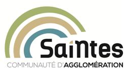 logo communauté d'agglomération de saintes