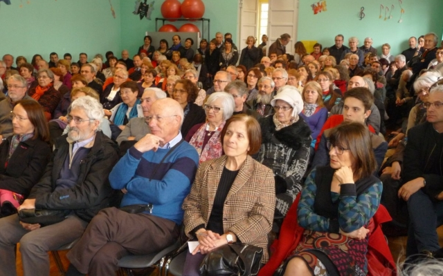 Un public nombreux et très attentif durant les rencontres littéraires