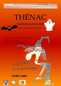 Affiche La sorcière de la rue Mouffetard-