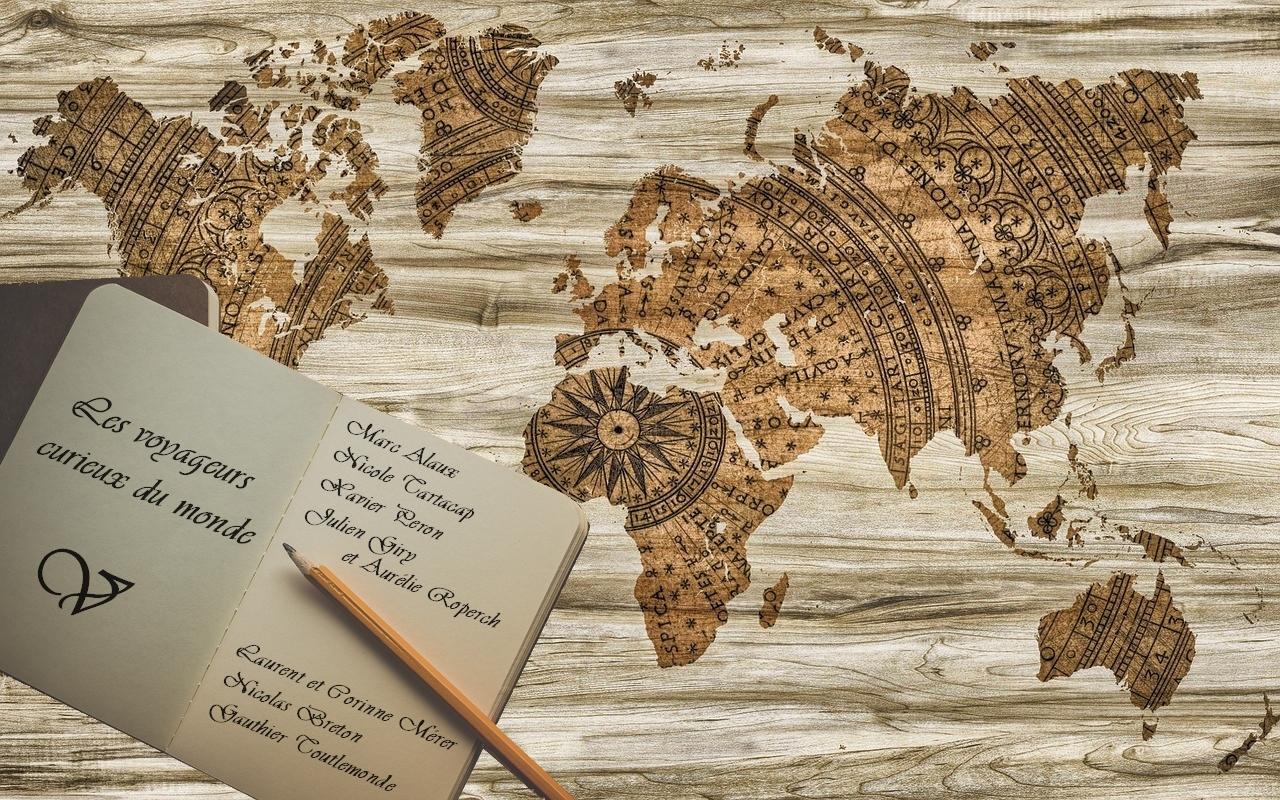 Les voyageurs curieux du monde