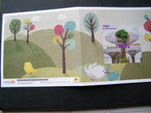 Carnet de timbres des dessins lauréats 2019