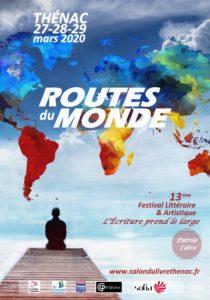 Affiche Routes du Monde - Festival 2020 des 27/28/29 mars 2020