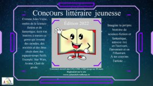 flyer Librius concours littéraire jeunesse 2022