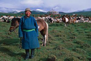 Nomade mongol