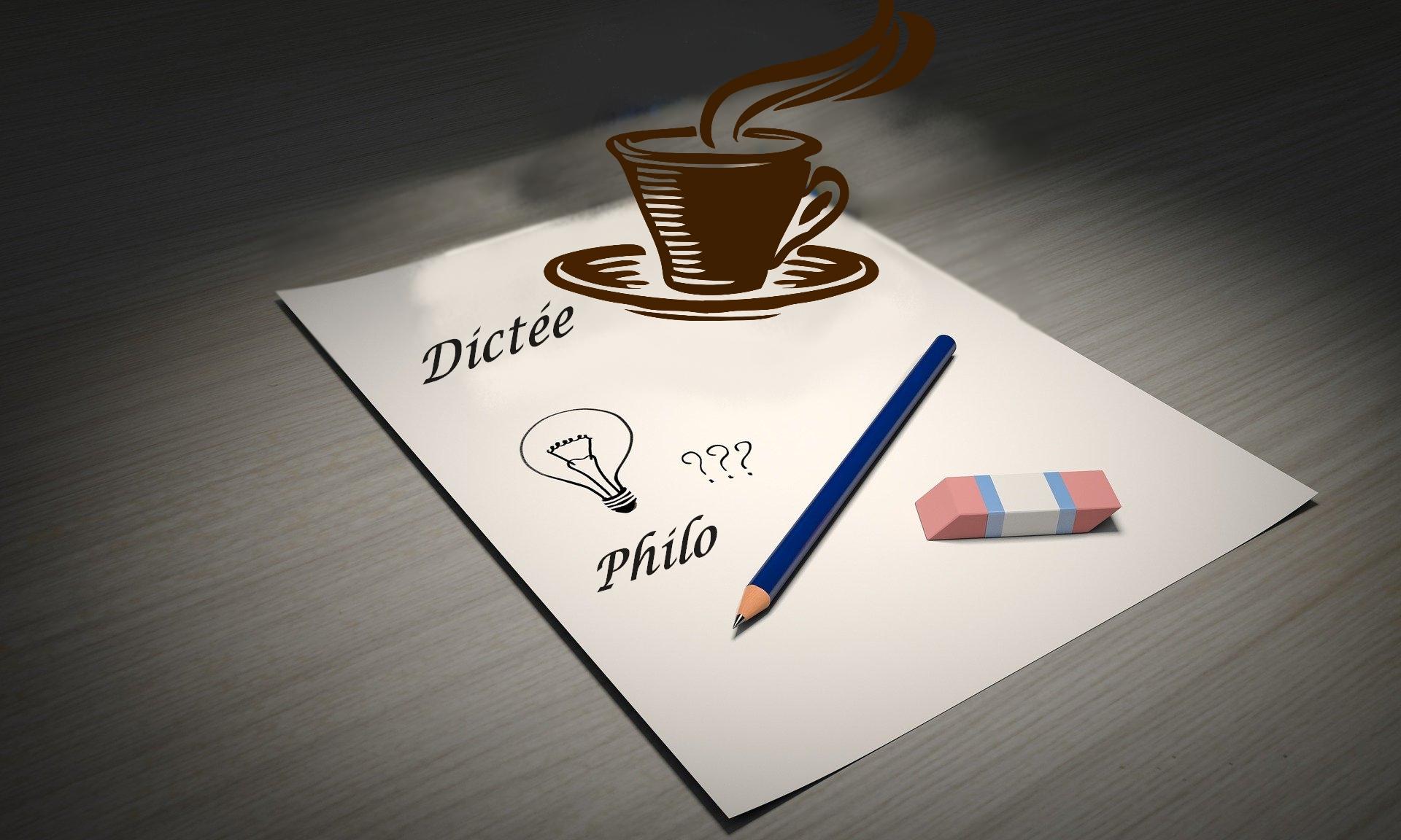 Animations Dictée – Philo